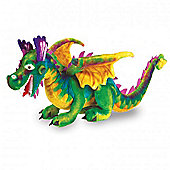 Melissa & Doug Children's Dragon Plush Soft Toy