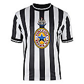 Newcastle United 1998 Home Shirt - Black & White