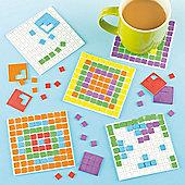 Mosaic Foam Craft Coaster Kits (Pack of 6)