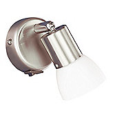 Wofi Sleeve Vetro Halogen Spot Light in Nickel