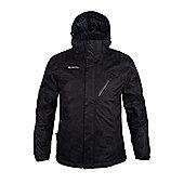 Moraine Mens Ski Jacket - Black