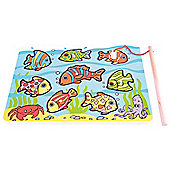 Bigjigs Toys BJ506 Tropical Magnetic Fishing Game