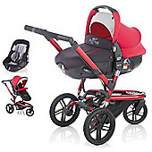 Jane Trider Extreme Matrix Light 2 Travel System (Deep Red)