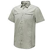 Craghoppers Mens Kiwi Trek Short Sleeve Shirt - Beige