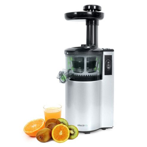 Slow Juicer With Salad Maker : Buy ElectriQ Premium Cold Pressed vertical Slow Juicer and Smoothie Maker - BPA Free from our ...