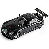 1:24 Remote Control Car - Black Mercedes Benz SLS AMG GT3 27 MHz