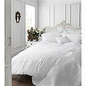 Catherine Lansfield Home Chantilly White Duvet Cover Set - Single