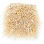 Fur Fabric Long Hair Honey
