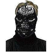 Black Metal Skull Mask