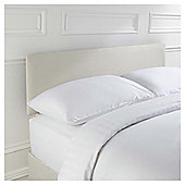 Seetall Mittal Headboard Linen Effect Cream Double