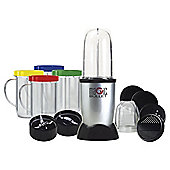 Magic Bullet 17 Piece Set Stainless Steel