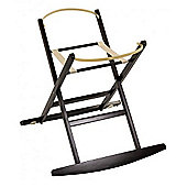 Dormouse Deluxe Rocking Moses Basket Stand (Cocoa)