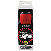 WowThem Mighty Music Engine Bluetooth Speaker Black/Red