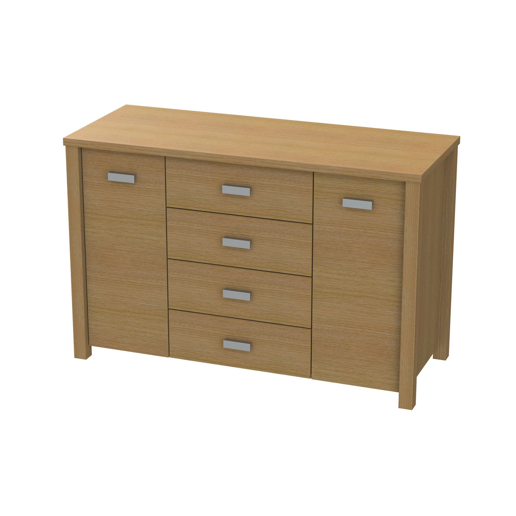 Ashcraft Romsey Sideboard - Walnut at Tesco Direct
