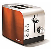 Morphy Richards Accents 222050 2 Slice Toaster - Copper