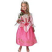 Child Disney Anniversary Sleeping Beauty Costume Small