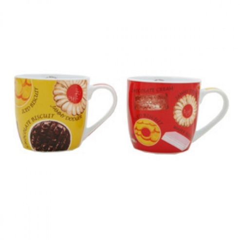 Assorted Mugs - Biscuits