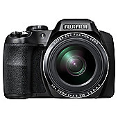 Fuji S9200 Digital Bridge Camera, 16.2MP, 50x Optical Zoom, Black