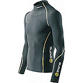 Skins A200 Thermal Long Sleeve Top - Black
