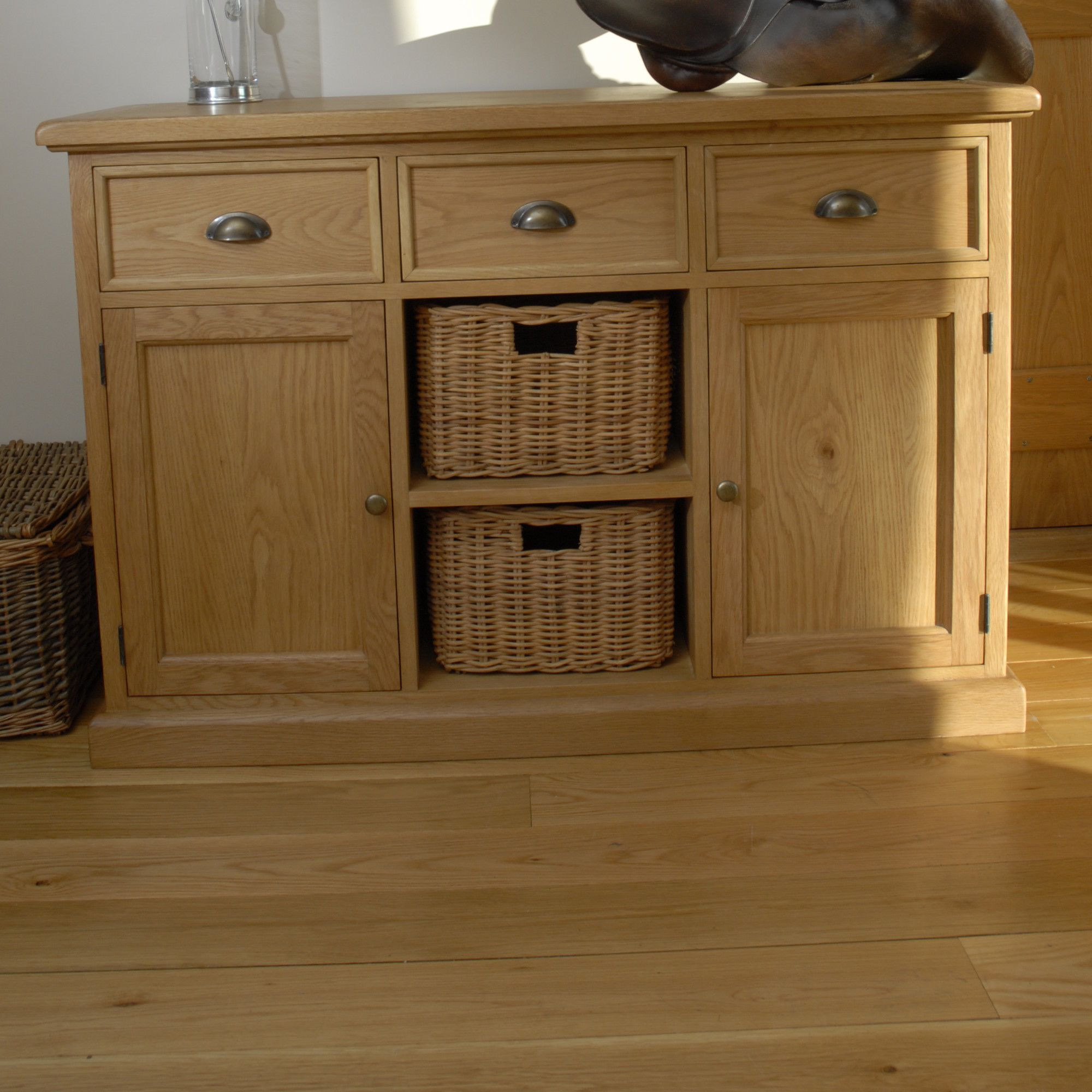 Oceans Apart Victoria Oak Sideboard at Tesco Direct