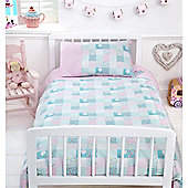 Baroo Cot Bed Duvet Cover & Pillowcase Set (Tweet Dreams)
