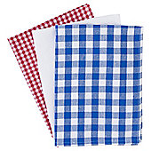 Gingham Tea Towels, 3 pack