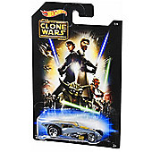 Hot Wheels Star Wars Vehicle The Clone Wars Brutalistic
