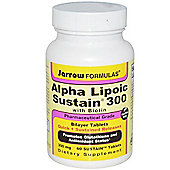 Jarrow Alpha Lipoic Sustained 300mg 60 Tablets