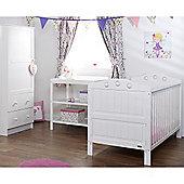 Obaby Lisa 3 Piece Furniture Set - White