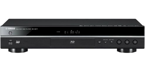 Yamaha BDS677 Networked 3D Ready Blu-Ray/DVD Player (Black)