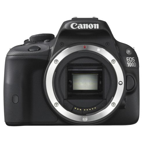 Canon EOS 100D Digital SLR, Black,  18MP, 3