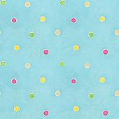 Blue Wallpaper - Spots