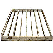10x8 Wooden Garden Building Base