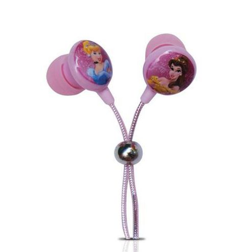 Walt Disney Princess In Ear Earphones NEW