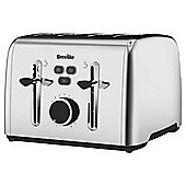 Breville Colour Notes VTT735 4 Slice Toaster - Stainless Steel
