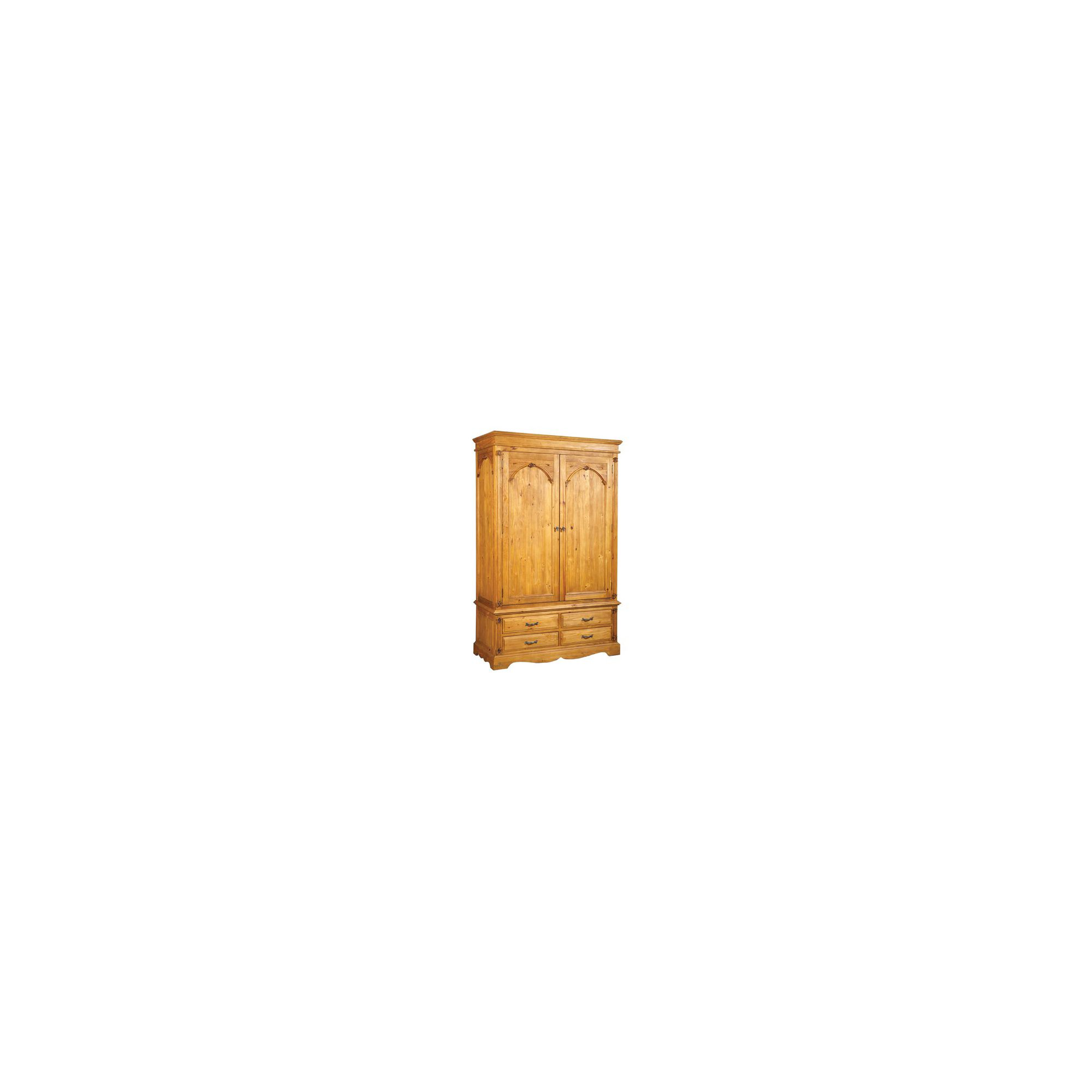 Thorndon Epsom Bedroom Double Wardrobe in Pine at Tescos Direct