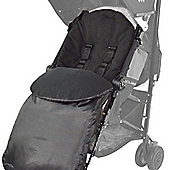 Footmuff for pushchairs Buggies Prams and Strollers Black
