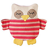 Knitted Snuggle Hottie - Owl
