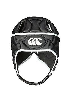 Canterbury Club Plus Mens Rugby Headguard Scrumcap Black - Black