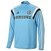 2014-15 Chelsea Adidas Training Top (Blue) - Blue