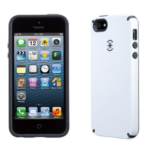 SPECK IPHONE 5 CANDYSHELL CHARCOAL WHITE