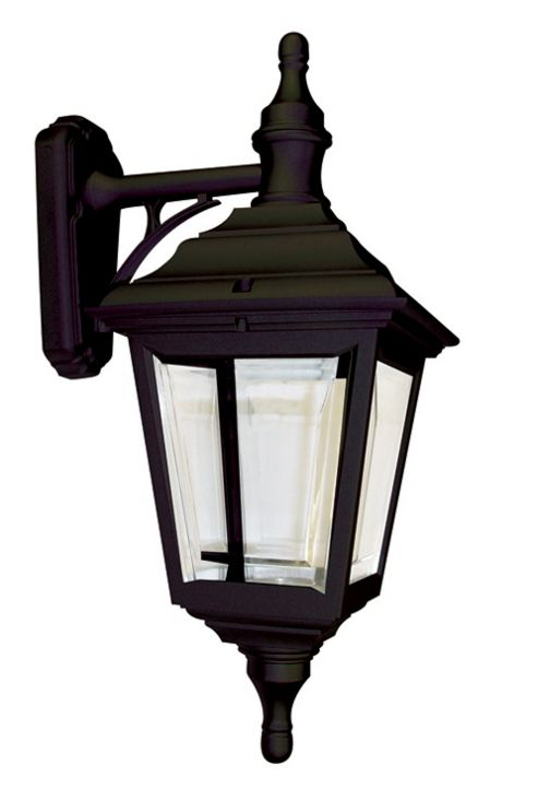 Elstead Lighting Kerry 1 Light Outdoor Wall Lantern in Black