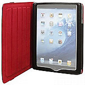Techair Stylish Folio Case (Black) for iPad