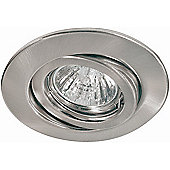 Paulmann Quality Line Four Swiveling Downlight in Brushed Iron