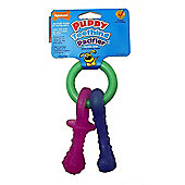 Nylabone Puppy Teething Keys A Flexible Chew (S/Regular)