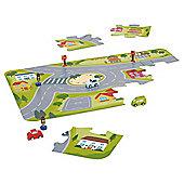 Carousel Wooden City Set Puzzle