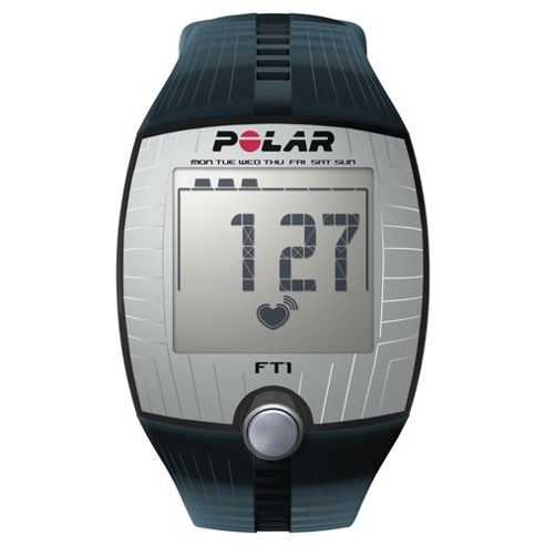 Polar FT1 Sports Watch/Heart Rate Monitor, Transparent