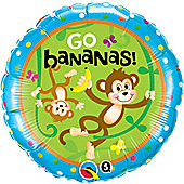 18' Birthday Monkeys - Go Bananas (each)