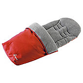 Baby Elegance Jersey Footmuff Red