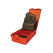 Dormer A190 No. 12 HSS Drill Set 60p Metal Case